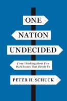 One Nation Undecided: Clear Thinking about Five Hard Issues That Divide Us - Peter H. Schuck