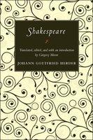 Shakespeare - Johann Gottfried Herder