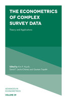 The Econometrics of Complex Survey Data - David T. Jacho-Chavez, Gautam Tripathi, Kim P. Huynh