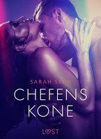 Chefens kone - erotisk novelle - Sarah Skov