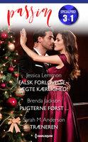 Falsk forlovelse - ægte kærlighed? / Pligterne først ... / Træneren - Sarah M. Anderson, Brenda Jackson, Jessica Lemmon
