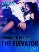 Forbidden Places: The Elevator - Erotic Short Story - Vanessa Salt