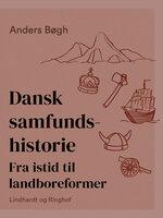 Dansk samfundshistorie. Fra istid til landboreformer - Anders Bøgh