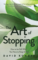 The Art of Stopping: - David Kundtz