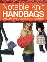 Notable Knit Handbags - Margaret Hubert, Carri Hammett