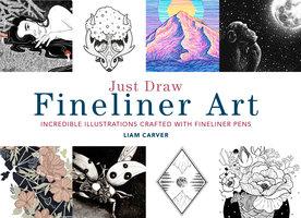 Just Draw Fineliner Art - Liam Carver
