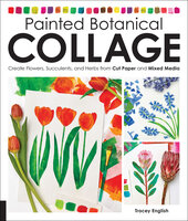 Painted Botanical Collage - Tracey English