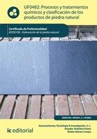 Procesos y tratamientos químicos y clasificación de los productos de piedra natural. IEXD0108 - Rubén Alonso Crespo, Amador Ordoñez Puime, Tecnología e Investigación S.L. Asesoramiento