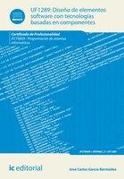 Diseño de elementos software con tecnologías basadas en componentes. IFCT0609 - José Carlos García Bermúdez