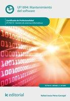 Mantenimiento del software. IFCT0510 - Rafael Jesús Pérez Carvajal