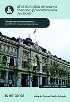Análisis del sistema financiero y procedimiento de cálculo. ADGN0108 - María del Carmen Castillo Delgado