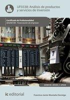 Análisis de productos y servicios de inversión. ADGN0108 - Francisco Javier Montaño Hormigo