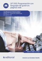 Programación con lenguajes de guión en páginas web. IFCD0110 - Antonio Luís Cardador Cabello