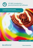 Instalación y parametrización del software. IFCT0510 - Álvaro Aranda Vera