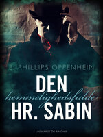 Den hemmelighedsfulde Hr. Sabin - Edward Phillips Oppenheimer