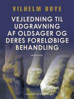 Vejledning til udgravning af oldsager og deres foreløbige behandling - Vilhelm Boye