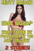 Safe word?/Brat taken by professor at the art gallery - Misty Maiden