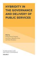 Hybridity in the Governance and Delivery of Public Services - Alessandro Hinna, Luca Gnan, Andrea Bonomi Savignon, Fabio Monteduro