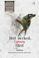 A Red-necked Green Bird - Ambai