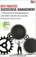 [BEST PRACTICE] Successful Management