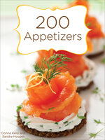 200 Appetizers - Donna Kelly, Sandra Hoopes