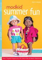 "MODKID Summer Fun: Sew 7 Stylish Projects for 18"" Dolls, Mix & Match Wardrobe - Patty Young"