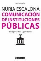 Comunicación de instituciones públicas - Núria Escalona Nicolàs