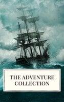 The Adventure Collection: Treasure Island, The Jungle Book, Gulliver's Travels, White Fang... - Jack London, Howard Pyle, Rudyard Kipling, Robert Louis Stevenson, Jonathan Swift, Icarsus