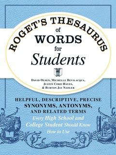 Roget's Thesaurus of Words for Students - E-bok - David Olsen