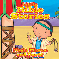 Little Bible Stories: Noah, Moses, and David - Johannah Gilman Paiva