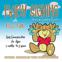 Baby Signing with Rollo Bear - Vonnie LaVelle, Paul Brar