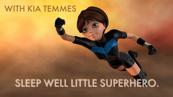 Sleep well little superhero - Guided bedtime story and meditation for children - Kia Temmes