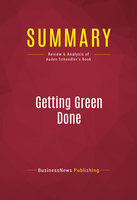 getting green done summary This getting things done summary will show you the power of a collection bucket & next actions list, and why a weekly review matters read now 1-sentence-summary: getting things done is a manual for stress-free productivity, which helps you set up a system of lists, reminders and weekly.