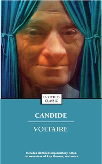 commentary and analysis of voltaires candide Voltaire's commentary on greed mostly arises from the el dorado section of candide the streets of el dorado are littered with precious gems and stones candide and cacambo are surprised to.